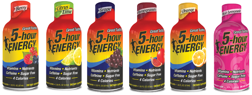 5 Hour Energy Products